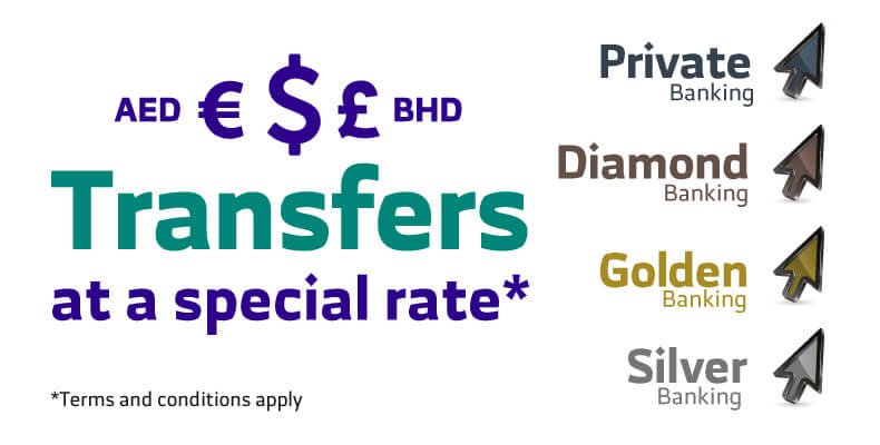 Foreign Exchange Transfers At Special Price For Banking Programs Customers