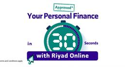 Your Personal Finance in Seconds through Riyad Online