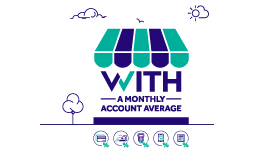 Business Entrepreneurs' offer with a monthly account average
