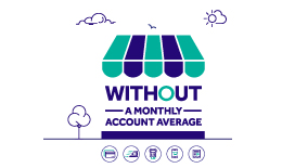 Business Entrepreneurs' offer without a monthly account average