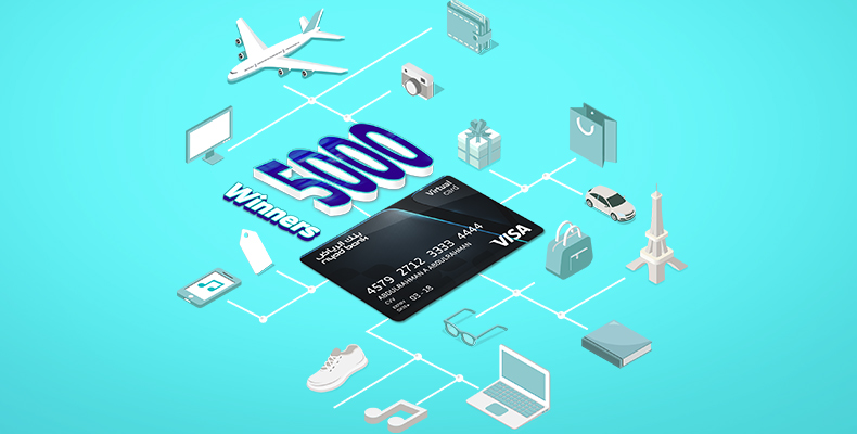 Win back SAR 100 with your Virtual Card!